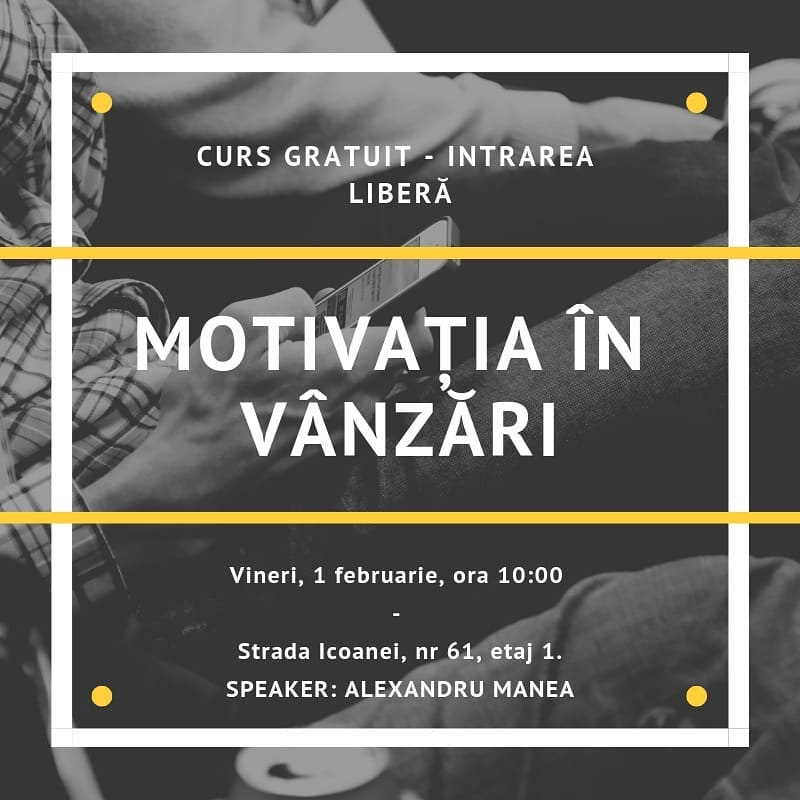 Motivatia in vanzari